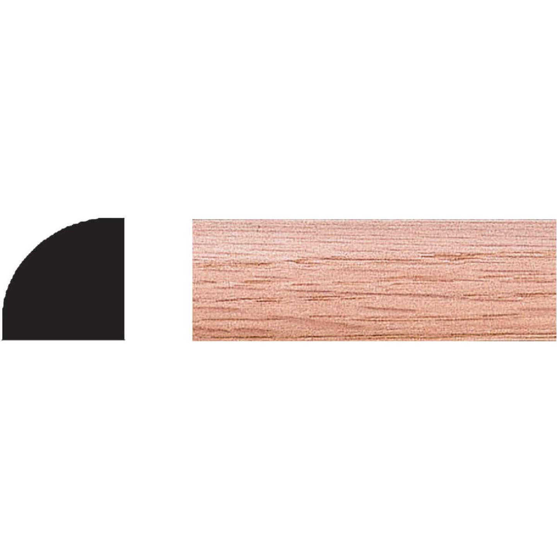 House of Fara 3/4 In. W. x 3/4 In. H. x 96 In. L. Solid Red Oak Quarter Round Image 1