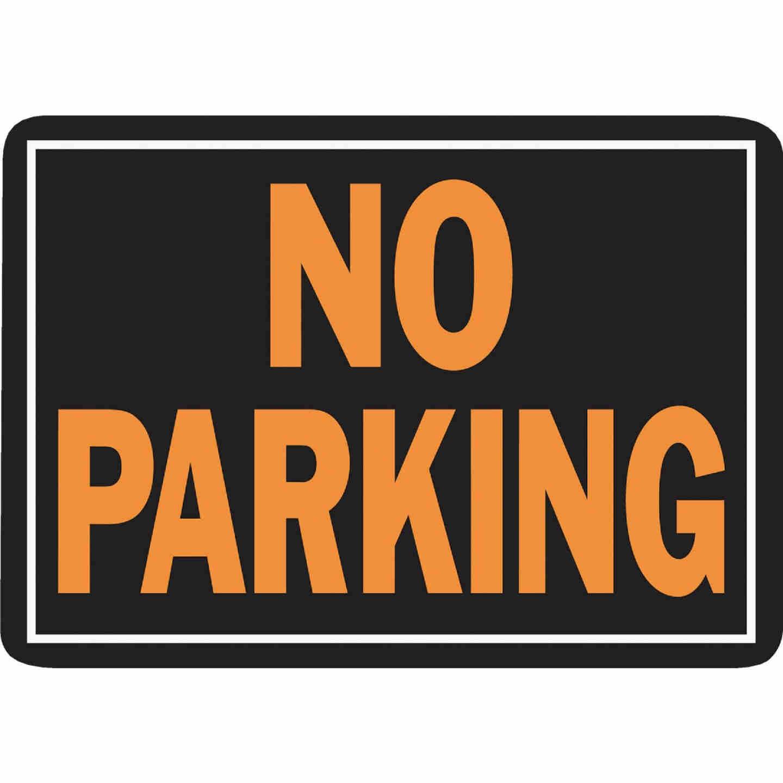 Hy-Ko Aluminum Sign, No Parking Image 1
