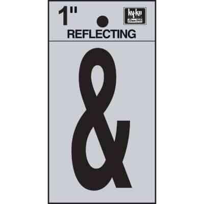 Hy-Ko 1 In. Vinyl Adhesive Symbol, Ampersand