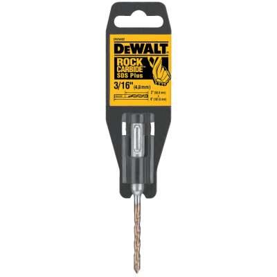 DeWalt SDS-Plus 3/16 In. x 4 In. 2-Cutter Rotary Hammer Drill Bit