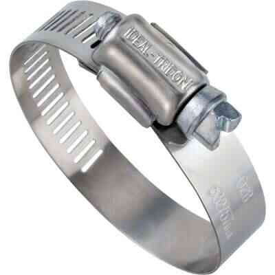 Ideal 1/2 In. - 1-1/16 In. 57 Stainless Steel Hose Clamp with Zinc-Plated Carbon Steel Screw