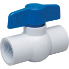 Proline 1/2 In. FIP x 1/2 In. FIP PVC Schedule 40 Quarter Turn Ball Valve, Non-NSF Image 1