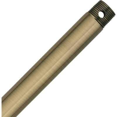 Hunter Antique Brass 3/4 In. Dia. X 12 In. L. Downrod