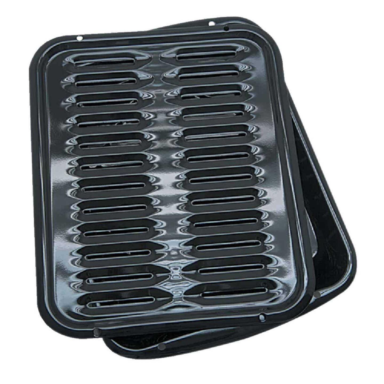 Range Kleen Porcelain Broiler Pan Image 1