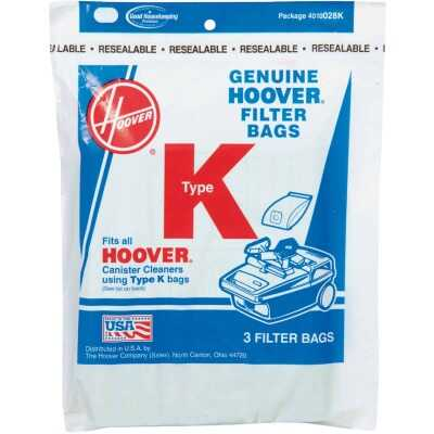 Hoover Type K Standard Vacuum Bag (3-Pack)