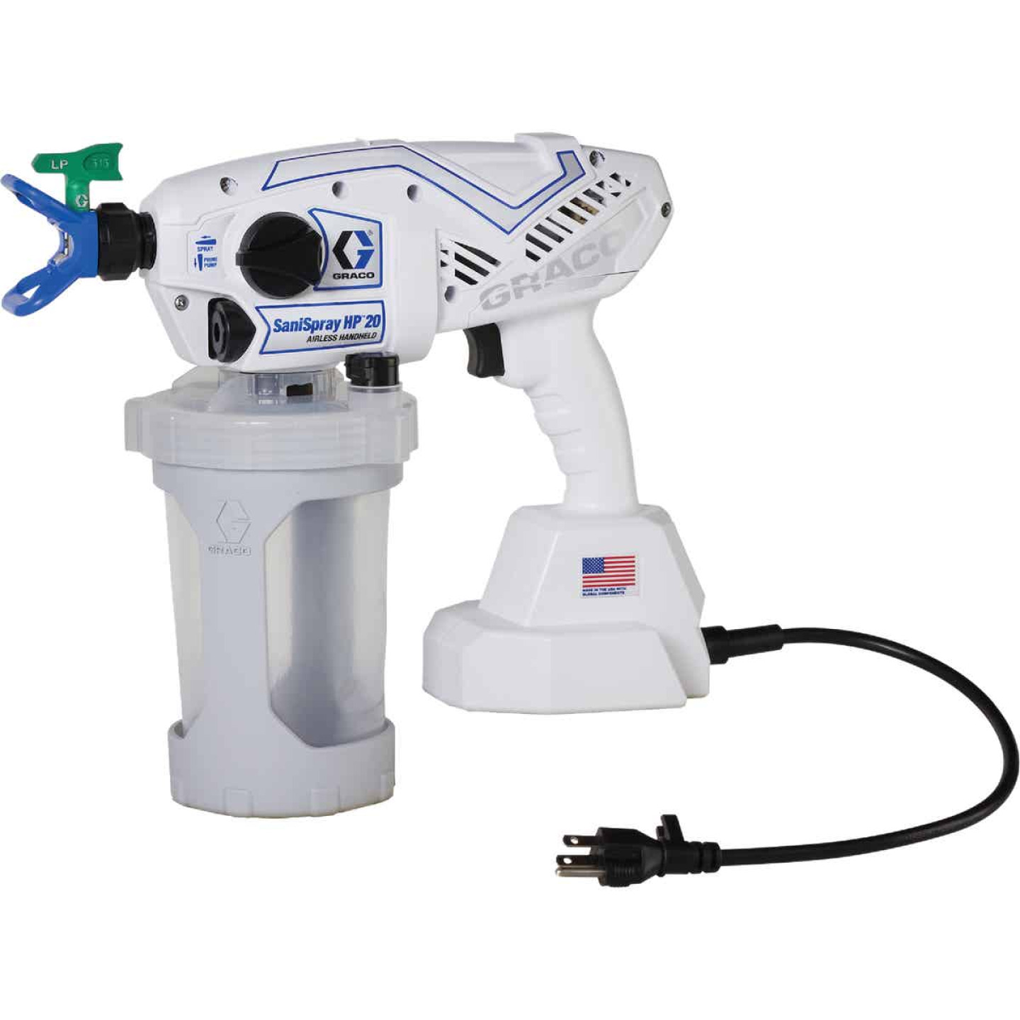 Graco SaniSpray HP20 Corded Airless Handheld Disinfectant Sprayer Image 1