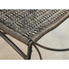 Outdoor Expressions Santorini 3-Piece Bistro Set with Wicker Seats Image 2
