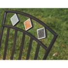 Outdoor Expressions Santorini 3-Piece Bistro Set with Wicker Seats Image 5