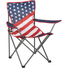 Outdoor Expressions Americana Folding Camp Chair Image 1