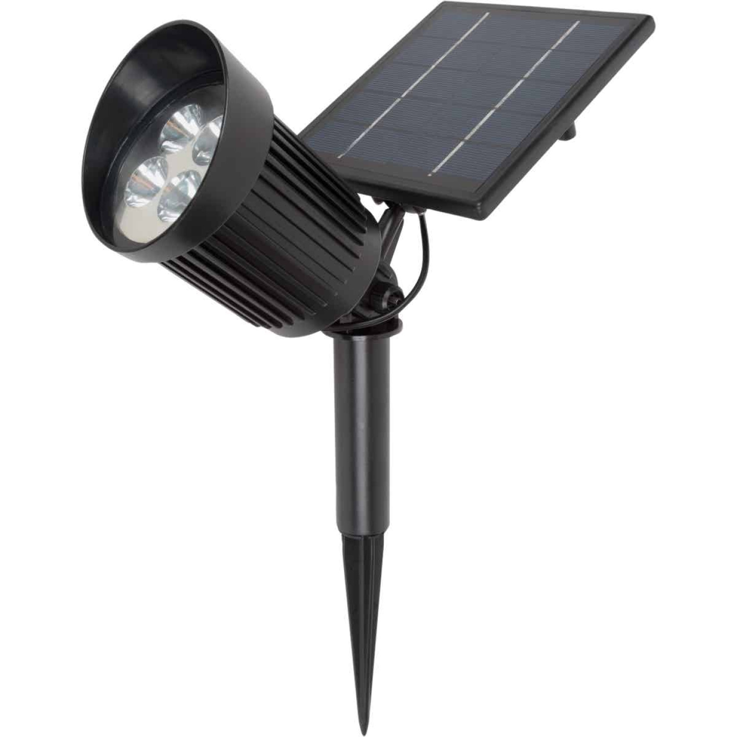 Fusion Black 8 SMD LED Up to 8-Hour Run Time Solar Spotlight Image 1