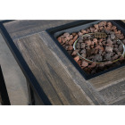 Leisure Classics Madrid 5-Piece Fire Table Chat Set Image 5