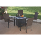 Leisure Classics Madrid 5-Piece Fire Table Chat Set Image 3