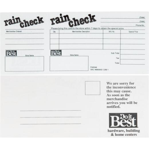 Do it Best & Do it Center Store Forms